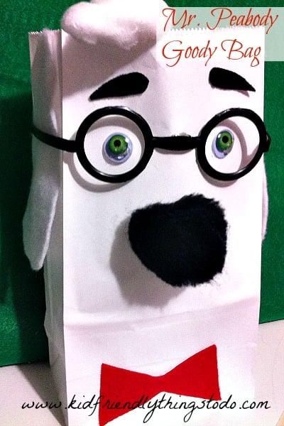 Mr.Peabody Gift Bag!