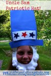 Uncle Sam Patriotic Hat! Too Cute!