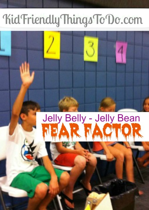 Jelly Belly - Jelly Bean Fear Factor! A great party game! Perfect for Halloween! - KidFriendlyThingsToDo.com