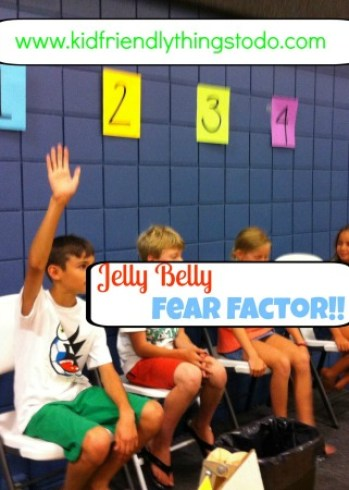Gross Jelly Bean Flavors like Stinky Socks make a pretty fun Fear Factor Party Game!