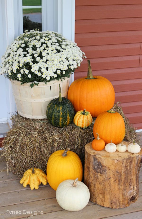 Glorious Fall, Great ideas for beautiful fall porches!