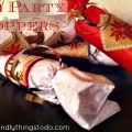 DIY Party Poppers, would be perfect for New Years Eve parties with the kids!