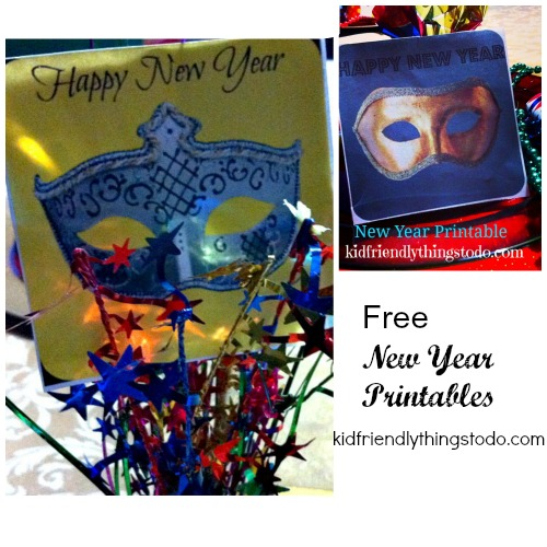 New Year Free Printables! So cool!