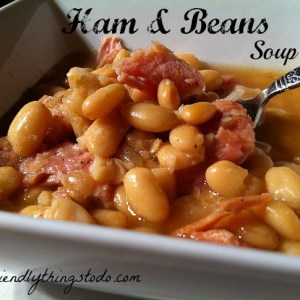 This is the kind of soup winters are made of! Delicious, hearty, and comforting. Great idea for leftover holiday ham.
