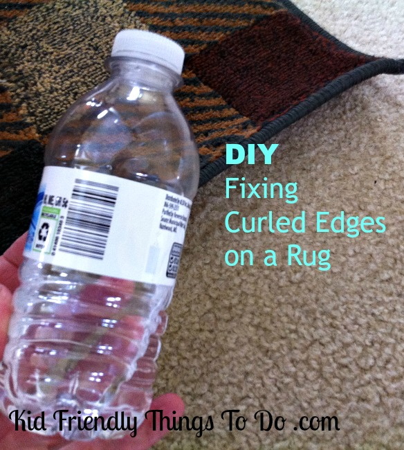 DIY - Fixing a rug that has curled up