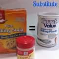 Emergency baking substitute for Cream of Tartar