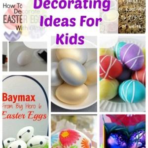 Several Easter Egg Decorating Ideas
