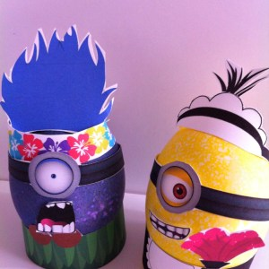 Minion Easter Egg printables