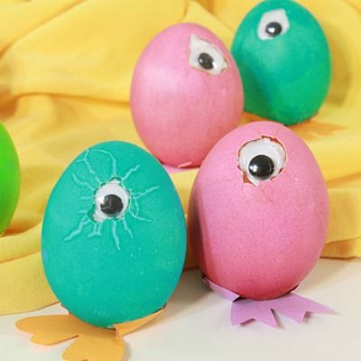 Silly Halloween Easter Egg Decorations - Minions and More
