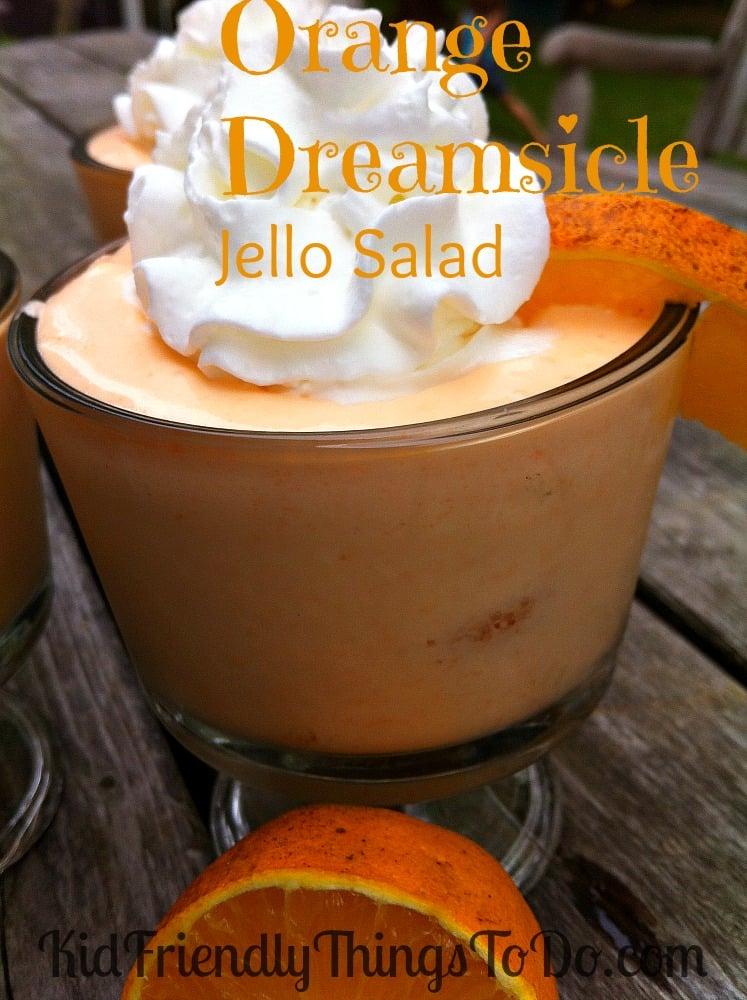 Orange jello salad cream cheese