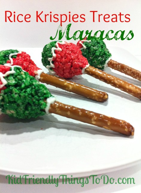 How to make rice krispies treats maracas for How do you make rice crispy treats