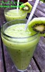A kid friendly, all fruit green smoothie recipe. They'll slurp this down, and ask for more!