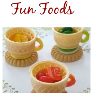 Garden and Tea party fun food ideas - KidFriendlyThingsToDo.com
