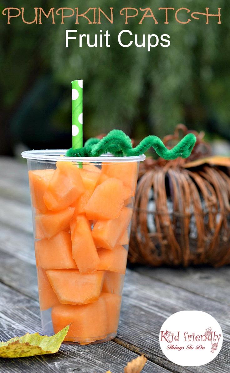 fun pumpkin fruit cups for a healthy kids fall u0026 halloween treat