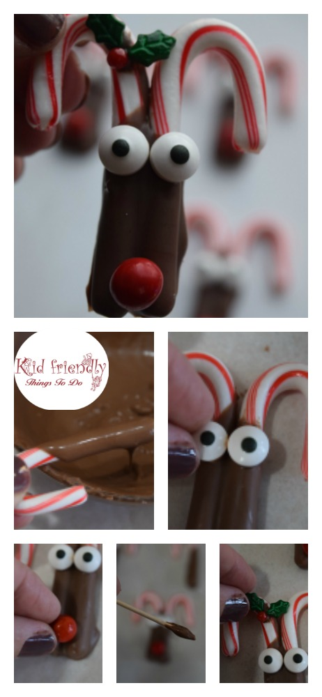 Perfect fun food snack for a Christmas party with kids. - Easy and fun treats for a quick last minute Christmas treat. www.kidfriendlythingstodo.com