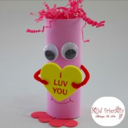 Easy Valentine Creature Craft for Kids to Make