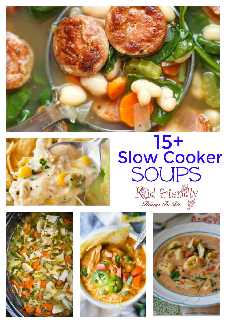 Over 15 Delicious Looking Slow Cooker Soup Recipes