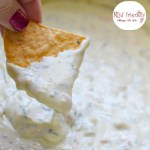 Easy Slow Cooker White Queso Blanco Dip - www.kidfriendlythingstodo.com