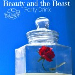 A simple Beauty and the Beast Party Drink Idea! Perfect and easy for your birthday parties - www.kidfriendlythingstodo.com