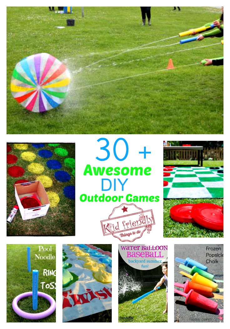 Over 30 Awesome Summer Outdoor Games to Play with the Kids