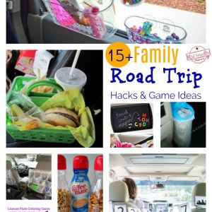Over 15 Must Try Road Trip Hacks For Easy Travelling with Kids - Ideas for organizing the car or van for family road trips! www.kidfriendlythingstodo.com printables