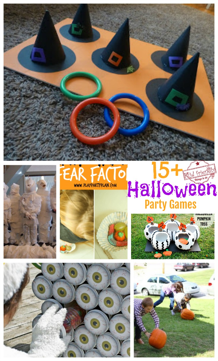 over 15 super fun halloween party game ideas for kids and teens and family - Game Ideas For Halloween Party