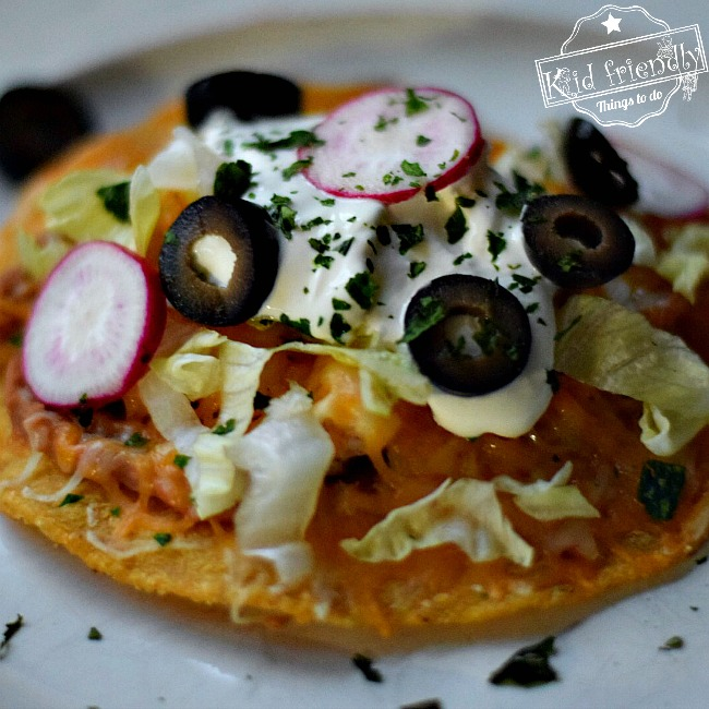 Quick chicken tostadas an easy mexican food recipe heres the printable for quick chicken tostadas easy mexican food recipe forumfinder Image collections
