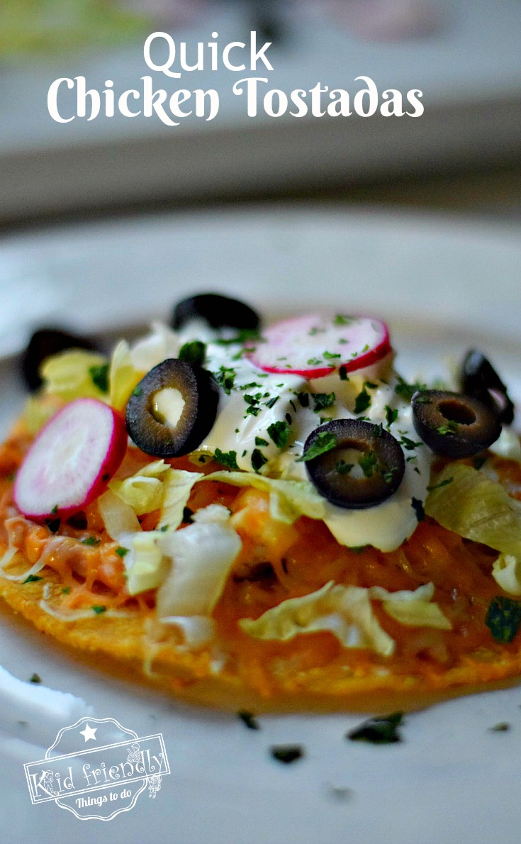 Quick chicken tostadas an easy mexican food recipe quick chicken tostadas easy mexican food recipe simple and absolutely delicious recipe for busy forumfinder Image collections