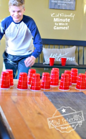 Awesome Minute To Win It Games that are Great for Kids  Teens and     Awesome Minute To Win It Games that are Great for Kids  Teens and Adults