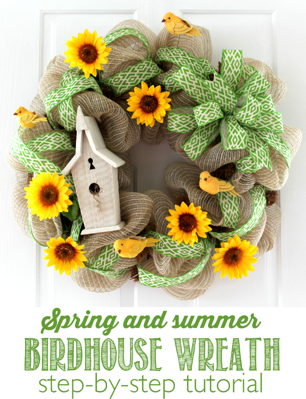 Over 27 Diy Easter And Spring Wreath Door Decorations