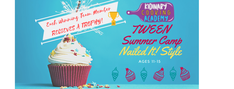 SOLD OUT — WAITLIST AVAILABLE -IN-PERSON TWEEN 4-DAY August Nailed It! Summer Camp | August 2-5 | Ages 11-15