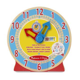une horloge Montessori pour apprendre