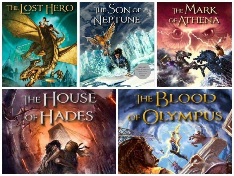 Image result for heroes of olympus series