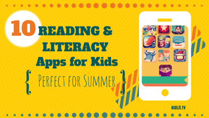 The Top 10 Reading and Literacy Apps for Summer
