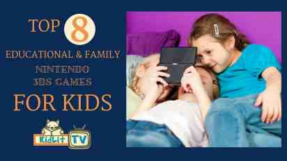 Our Top 8 Educational & Family Nintendo 3DS Games