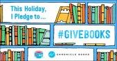 Give books pledge   #KidLit #KidLitTV
