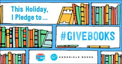 This Holiday I Pledge To #GiveBooks