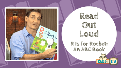 Read Out Loud: Tad Hills Reads R IS FOR ROCKET