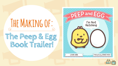"The Making of the ""Peep & Egg: I'm Not Hatching"" Book Trailer"