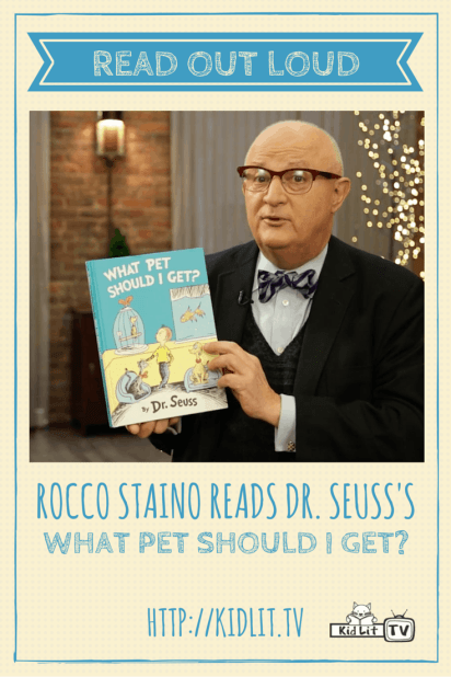 Read Out Loud - Rocco Staino - What Pet Should I Get? Pinterest Image