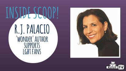 Inside Scoop | 'Wonder' Author R.J. Palacio Supports LGBT Fans