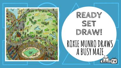 Ready Set Draw! | Roxie Munro Draws an Amazing Maze
