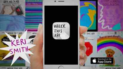 Wreck This App – Available on the App Store!