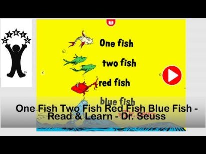 One Fish Two Fish Red Fish Blue Fish – Read & Learn