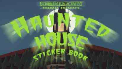 Haunted House Sticker Book Trailer