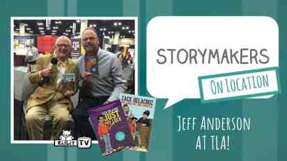 StoryMakers on Location: Jeff Anderson at TLA