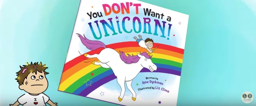 Download Book Trailer YOU DON'T WANT A UNICORN - KidLit TV