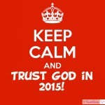 New Year – And Trusting God!