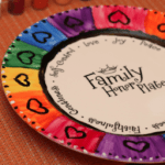 Family Honor Plate and Table Thyme Discussion Cards {Product Review}