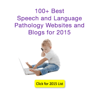 100 Best Speech and Language Websites and Blogs 2015